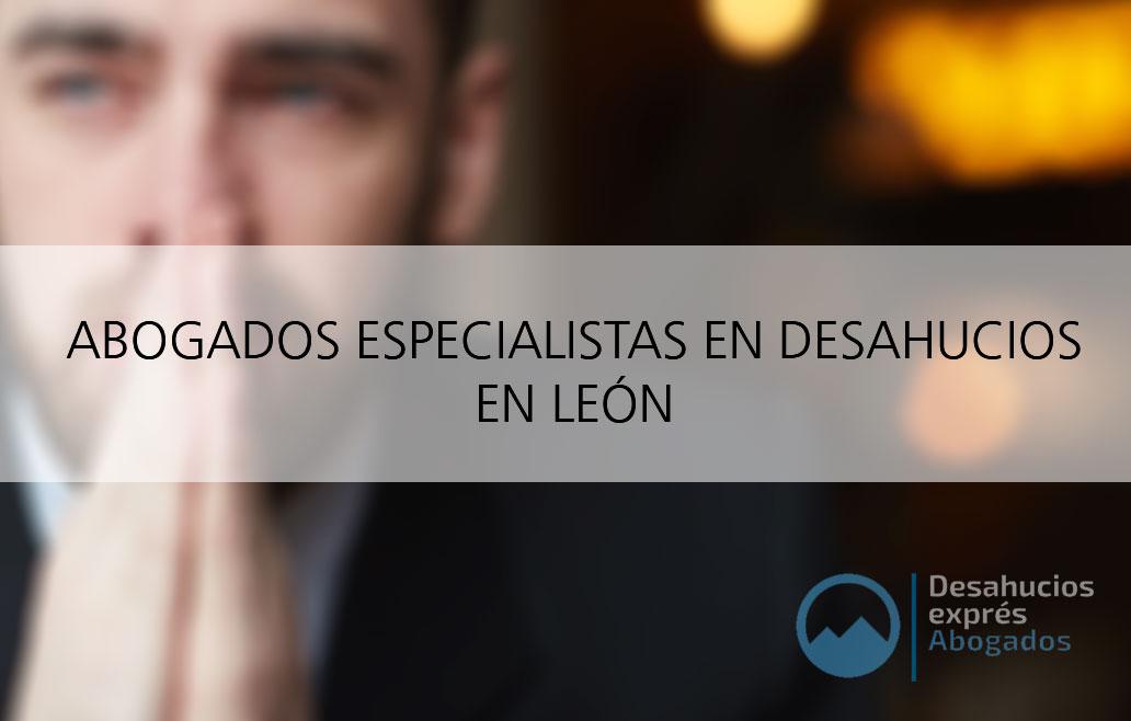 Abogados para desahucios en León